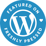 Wordpress Freshly Pressed Badge